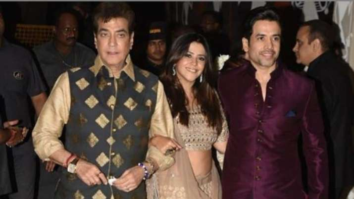 jeetendra ekta kapoor and tusshar kapoor- India TV Hindi