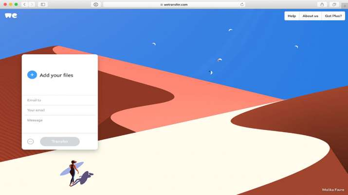 Govt bans popular file-sharing site WeTransfer in India- India TV Paisa