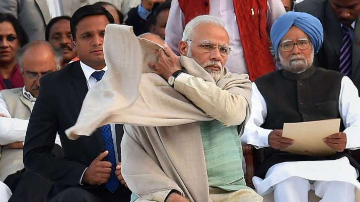 PM Modi and Manmohan Singh- India TV Paisa