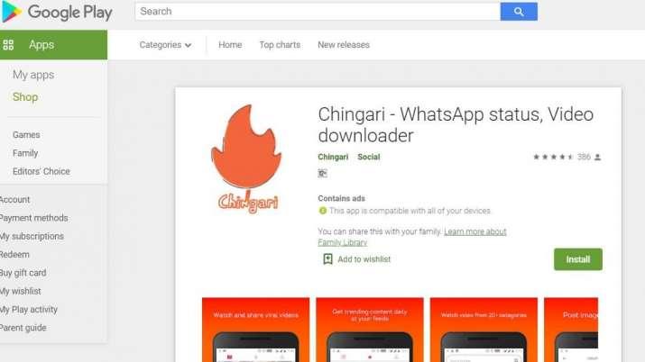 Chingari gets 2.5 million subscriber- India TV Paisa