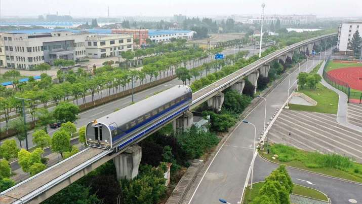 China's 600 km/h high-speed maglev completes successful trial run- India TV Paisa