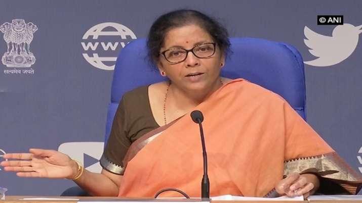 निर्मला सीतारमण आज दोपहर 4 बजे प्रेस कॉन्फ्रेंस को करेंगी संबोधित - India TV Paisa