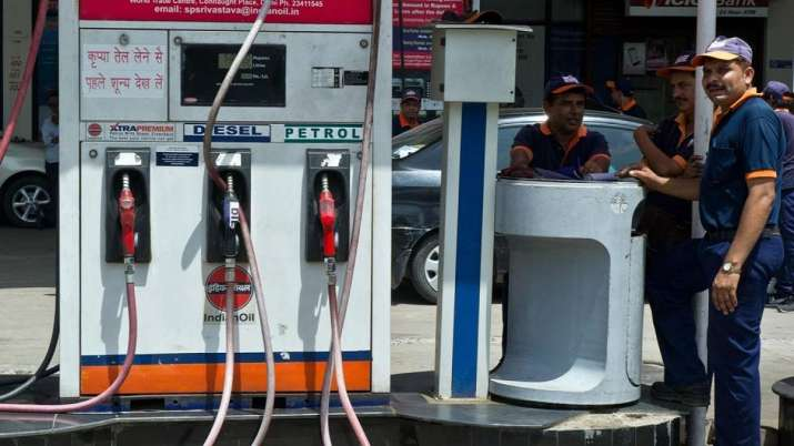 Petrol price hiked by 55 paise per litre, diesel by 60 paise- India TV Paisa