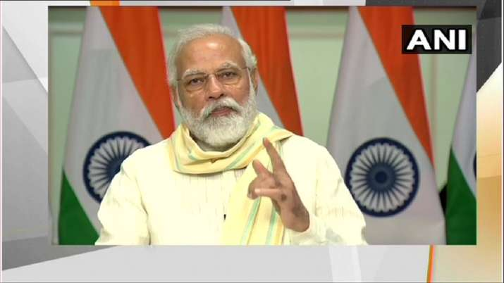 PM modi Launched Garib Kalyan Rojgar Yojana to help boost livelihood opportunities in rural India- India TV Paisa