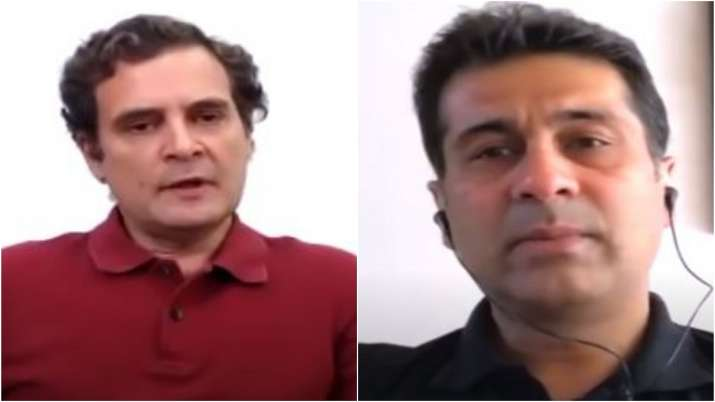 Rahul Gandhi's discussion on COVID-19, economy with industrialist Rajiv Bajaj aired - India TV Paisa