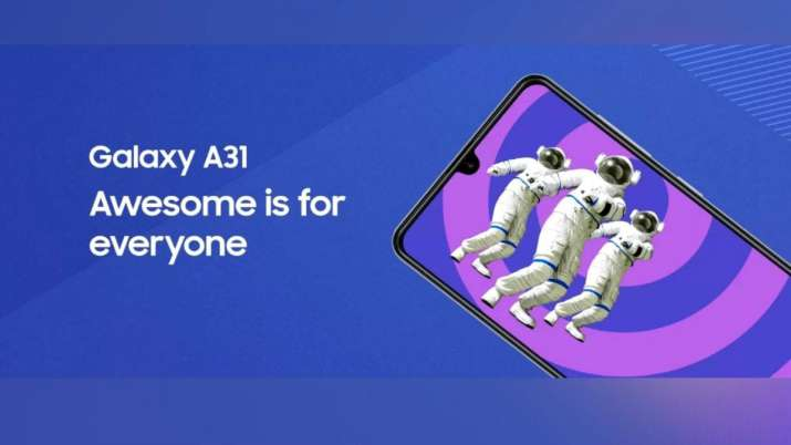 samsung A31 launch- India TV Paisa