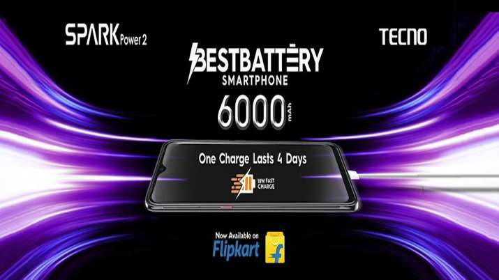 """Tecno Spark Power 2 arrives with 7"""" display and a 6,000mAh battery- India TV Paisa"""