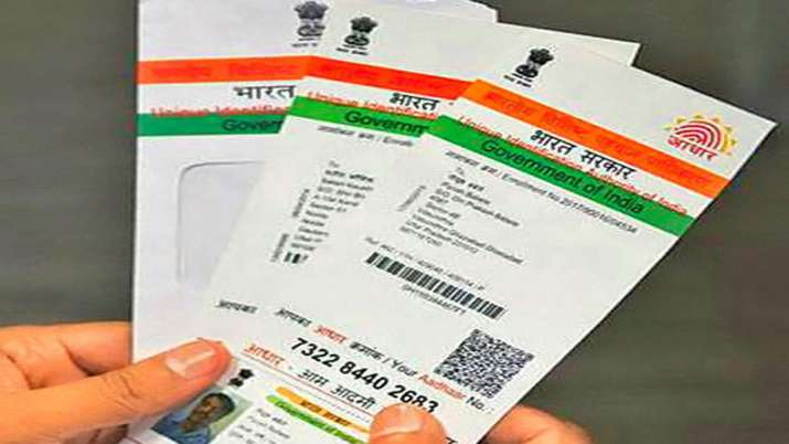 Order Aadhaar Reprint delivered to your address within 15 days via Speed Post- India TV Paisa