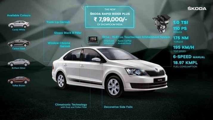Skoda launches Rapid Rider Plus at Rs 7.99 lakh- India TV Paisa