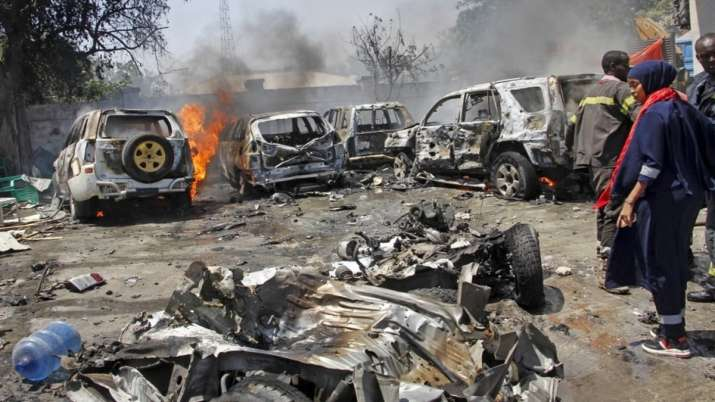 Photo of विस्फोट से थर्रा उठे सोमालिया के 2 शहर, बैदोआ में 4 लोगों की मौत, मोगादिशू मे कई घायल