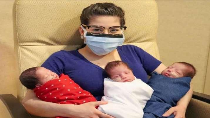 Photo of कोरोना वायरस को हराने के बाद महिला ने दिया तीन स्वस्थ बच्चों को जन्म