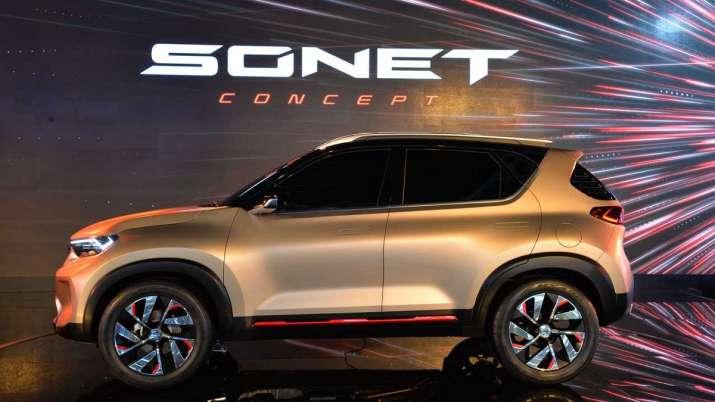 Kia Sonet Compact SUV Unveiled in India- India TV Paisa