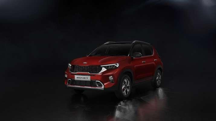 Kia Motors unveils compact SUV Sonet; plans to launch next month- India TV Paisa