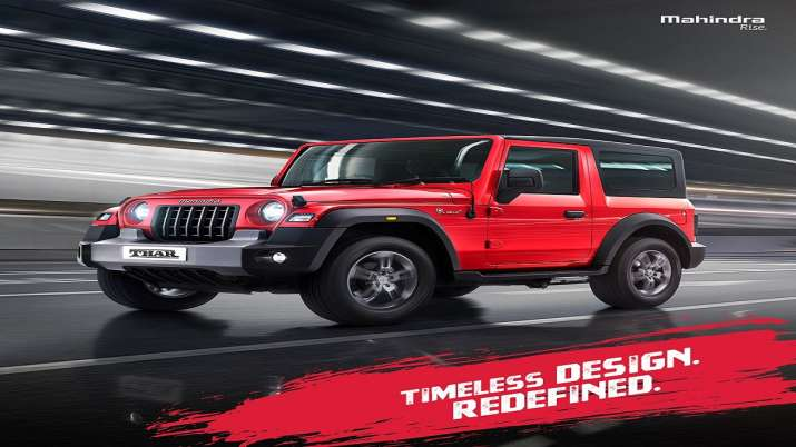 Mahindra unveils all new Thar, launch on October 2- India TV Paisa
