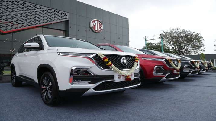 MG Motor retail sales increase by 40 per cent in July- India TV Paisa