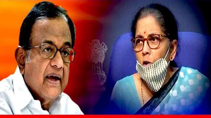 P Chidambaram's Messenger of God jibe at Nirmala Sitharaman over Act of God remarks on economy- India TV Paisa
