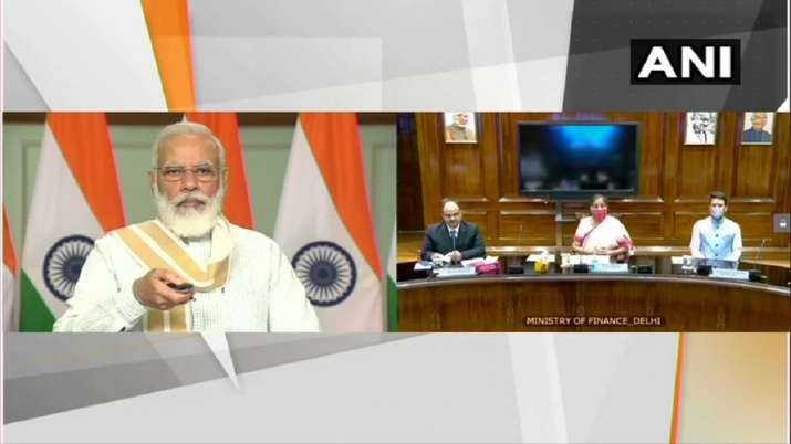 "Prime Minister Narendra Modi launches the platform for ""Transparent Taxation – Honoring The Honest- India TV Paisa"