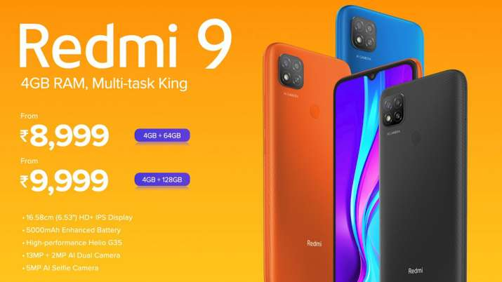 Redmi launched Redmi9 in india at Rs 8999 with premium specs- India TV Paisa