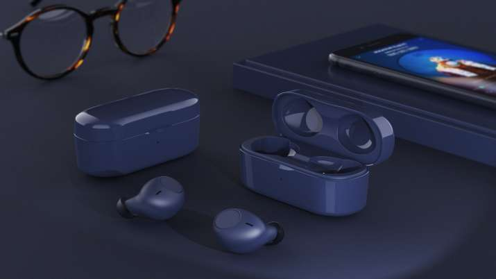 SNOKOR's iROCKER blue variant TWS earbuds- India TV Paisa