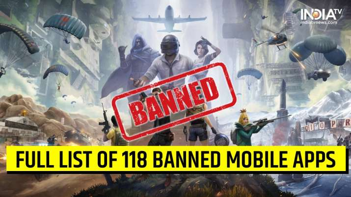 List of Chinese Mobiles App including PUBG and WeChat which are banned by Government- India TV Paisa