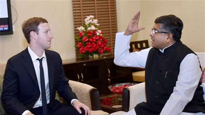 IT Minister Prasad writes to Zuckerberg, accuses Facebook employees of abusing PM- India TV Paisa