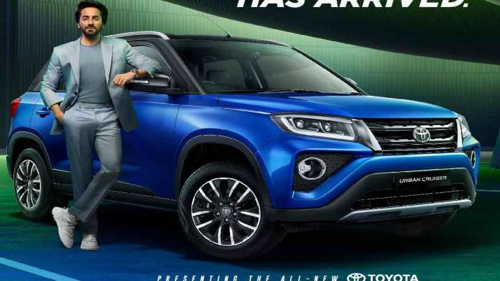 Toyota Urban Cruiser SUV launched, starts at Rs 8.40 lakh - India TV Paisa