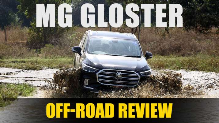 MG Gloster Off-Road Review- India TV Paisa
