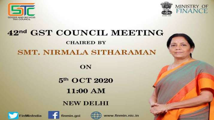 N Sitharaman will chair the 42nd GST Council meeting in New Delhi today- India TV Paisa