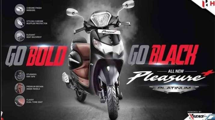Hero Pleasure Plus Platinum Launched priced at Rs 60,950- India TV Paisa