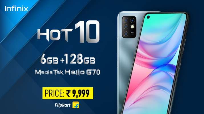 Flipkart Big Billion Days sale: Infinix HOT 10 goes live on October 16- India TV Paisa