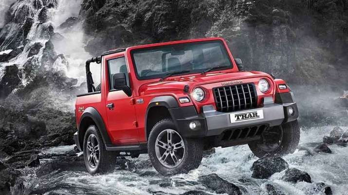 Mahindra's all-new Thar SUV crosses 9,000 bookings in 4 days- India TV Paisa
