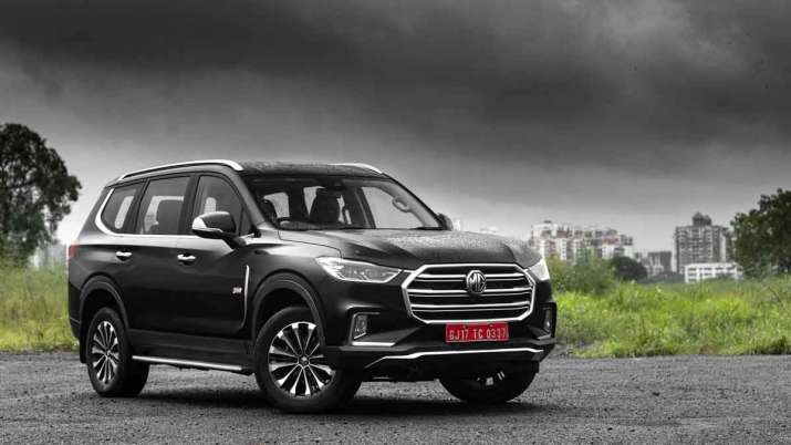 MG Motor launches premium SUV Gloster priced up to Rs 35.38 lakh - India TV Paisa