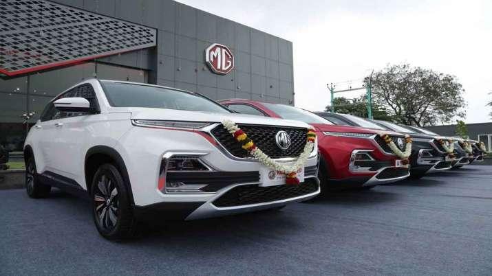 MG Motor reports 3 pc dip in retail sales in September- India TV Paisa