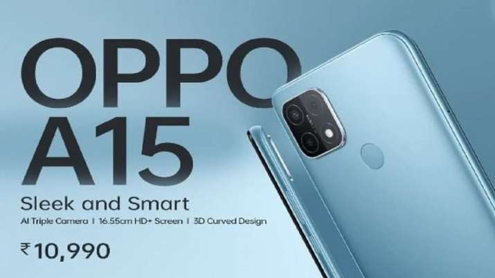 OPPO A15 launch in india check price and specifications - India TV Paisa