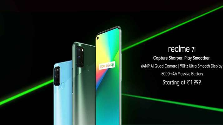 Realme 7i With 5000mAh Battery, Snapdragon 662 SoC, 90Hz Refresh Rate Launched in India: Price, Spec- India TV Paisa