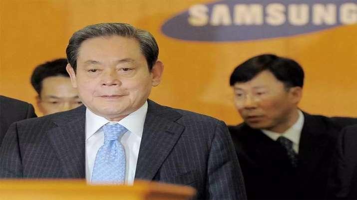 Samsung Chairman Lee Kun-Hee Dies - India TV Paisa