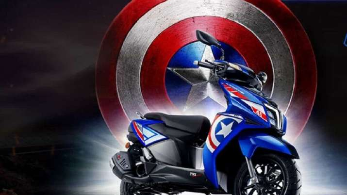 TVS Motor launches Marvel's Avengers inspired scooter priced at Rs 77,865- India TV Paisa