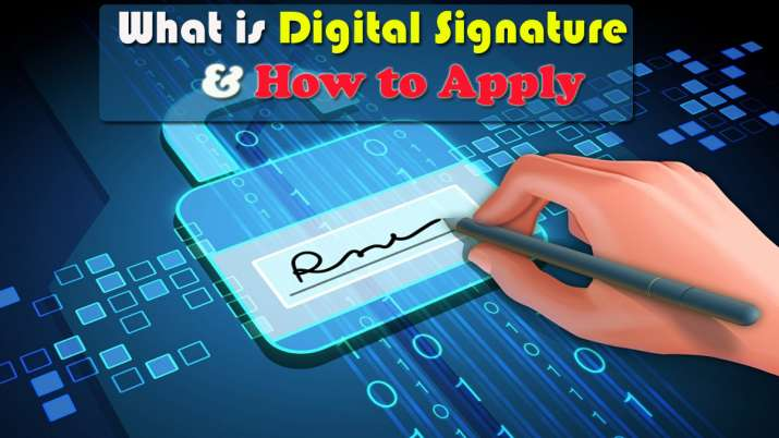 What is Digital Signature and How to apply- India TV Paisa