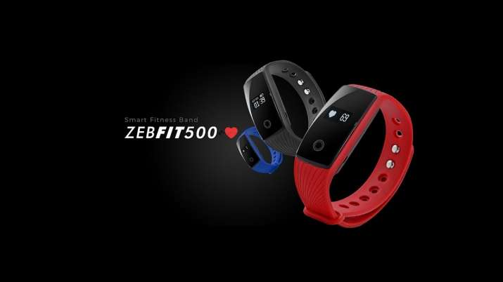 Zebronics launches ZEB-FIT920CH smart fitness band- India TV Paisa
