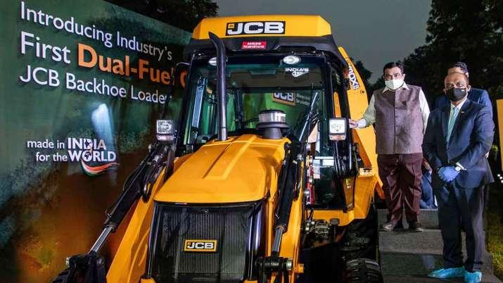 JCB devlope dual fuel diesel cng loader- India TV Paisa