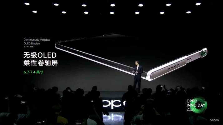 oppo unveils rollable display smartphone and AR glass- India TV Paisa