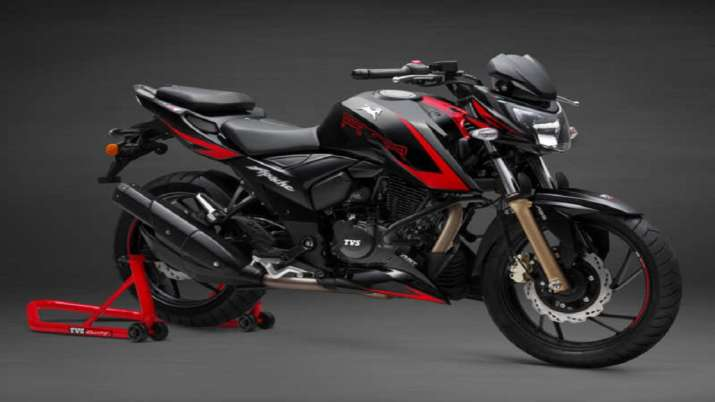 TVS Motor Company launches new version of Apache RTR 200 4V at Rs 1.31 lakh- India TV Paisa