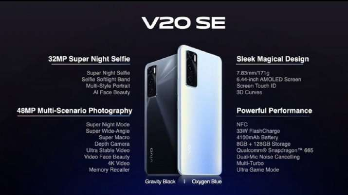 VIVO V20 SE WITH 32MP SELFIE CAMERA LAUNCHED IN INDIA- India TV Paisa