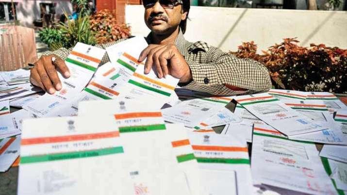 Aadhaar card and enrolment slip lost, how to download new aadhaar step by step process- India TV Paisa