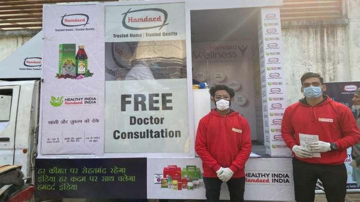 Hamdard launches mobile health van initiative- India TV Paisa