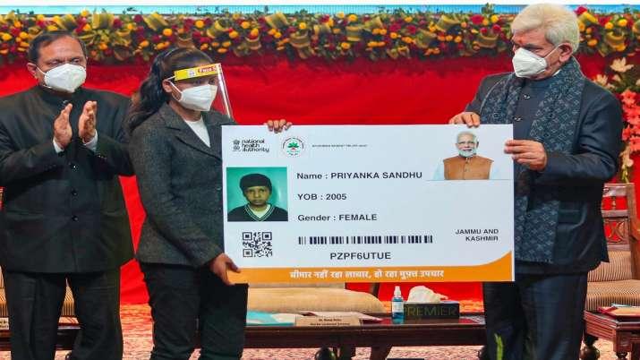 Ayushman Bharat PMJAY jammu kashmir benefits PMJAY: जम्मू-कश्मीर में हुई आयुष्मान योजना की शुरुआत, ज- India TV Paisa