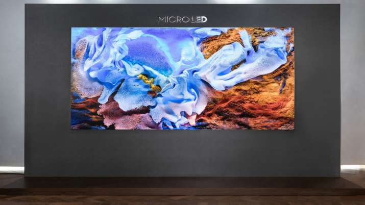 Samsung launches 110-inch Micro LED TV- India TV Paisa