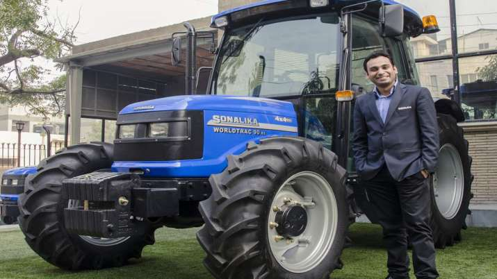 Sonalika Tractors launches country's first field-ready electric tractor Tiger- India TV Paisa