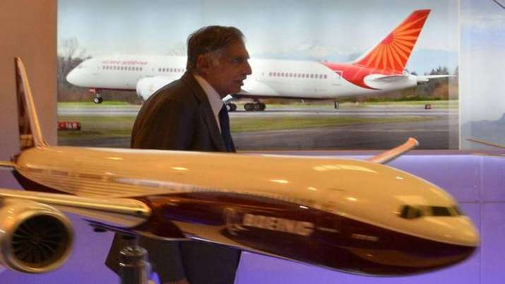Tata group to file an expression of interest for air india today- India TV Paisa