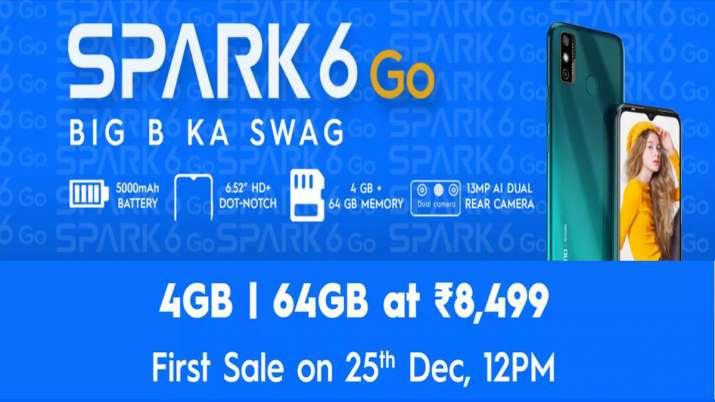 Tecno Spark 6 Go भारत में हुआ लॉन्च, मात्र 8499 रुपए में मिलेंगे शानदार फीचर्स, देखें स्पेसिफिकेशन्स- India TV Paisa